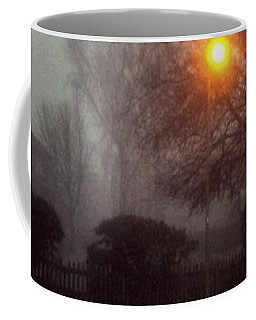 Coffee Mug featuring the photograph Misty Morning by Persephone Artworks