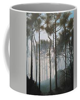 Misty Morning Walk Coffee Mug