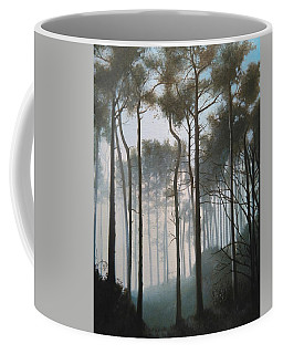 Misty Morning Walk Coffee Mug