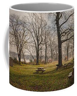 Misty November Picnic Grove Coffee Mug