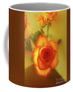 Misty Orange Rose Coffee Mug