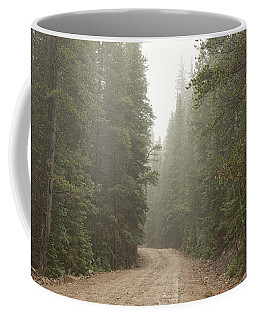 Coffee Mug featuring the photograph Misty Road by James BO Insogna