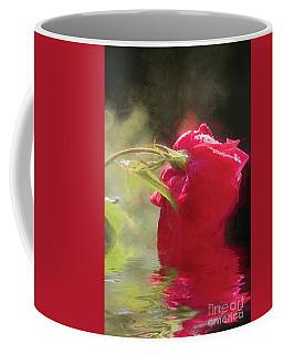 Misty Rose Reflections Coffee Mug