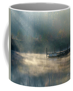 Coffee Mug featuring the photograph Misty Sunrise by George Randy Bass