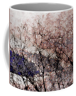 Misty Sunrise On Whidbey Island Coffee Mug