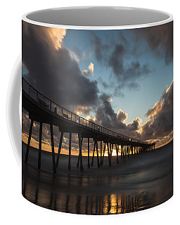 Misty Sunset Coffee Mug by Ed Clark