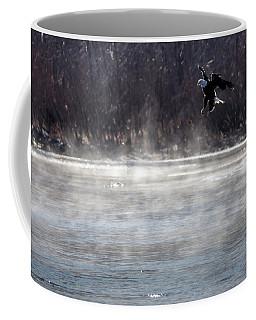 Misty Water Eagle Coffee Mug