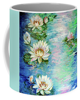 Misty Waters Waterlily Pond Coffee Mug