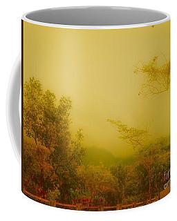 Misty Yellow Hue- El Valle De Anton Coffee Mug