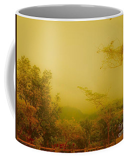 Misty Yellow Hue- El Valle De Anton Coffee Mug