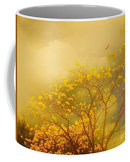 Misty Yellow Hue -poui Coffee Mug