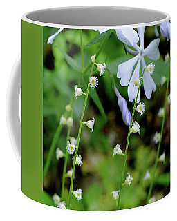 Miterwort And Phlox Coffee Mug