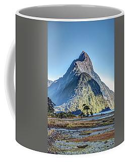 Mitre Peak At Low Tide Coffee Mug