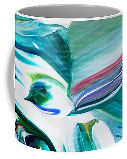 Mixed Media Abstract F11317l Coffee Mug