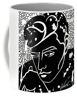 Mixed Media Man Large Print Robert Erod Coffee Mug