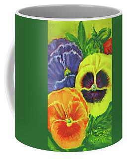 Mixed Pansy  Coffee Mug