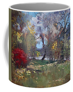 Mixed Weather In A Fall Afternoon Coffee Mug
