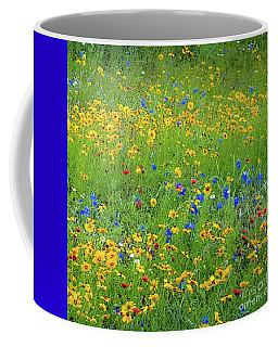 Mixed Wildflowers In Bloom 538 Coffee Mug