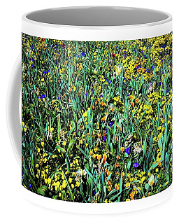 Coffee Mug featuring the photograph Mixed Wildflowers In Texas by D Davila