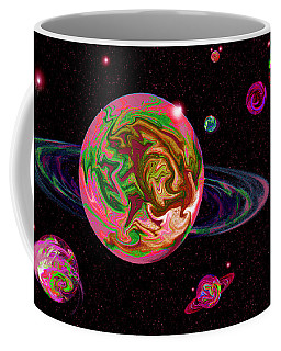 Mixing Color Space Frontier Coffee Mug by Samantha Thome