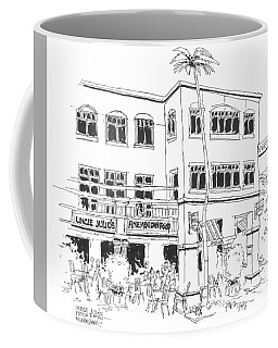 Mizner Park's Uncle Julio's Restaurant Coffee Mug