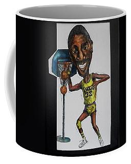 Mj Caricature Coffee Mug