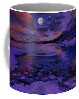 Mnon Over The Frozen Lands Coffee Mug