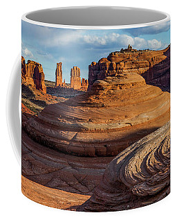 Moab Back Country Panorama 2 Coffee Mug