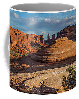 Moab Back Country Panorama Coffee Mug
