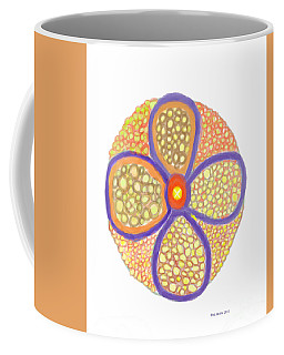 Moasic Flower Coffee Mug