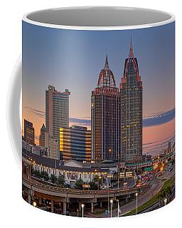 Mobile Sunset Coffee Mug