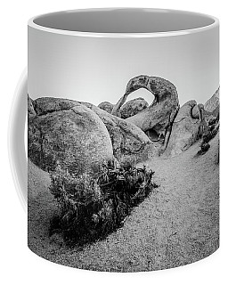 Mobius Arch In Monochrome Coffee Mug