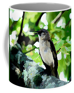 Mocking Bird Sings Coffee Mug