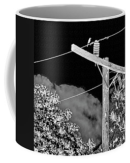 Mockingbird On A Wire Coffee Mug