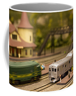 Model Trains Coffee Mug by Patrice Zinck