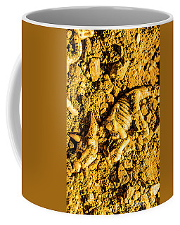Modelling A Triceratops Fossilised Recovery Coffee Mug