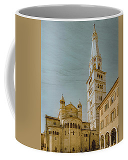 Coffee Mug featuring the photograph Modena, Italy - Modena Cathedral by Mark Forte