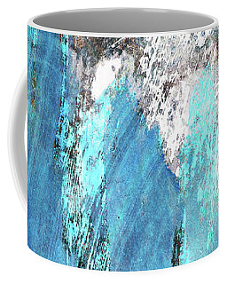 Modern Abstract Art - Blue Essence - Sharon Cummings Coffee Mug