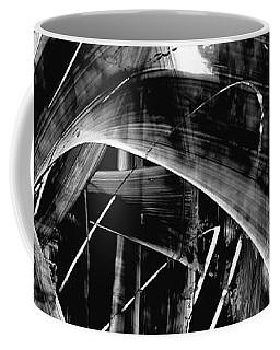 Coffee Mug featuring the painting Modern Art - Black Embers 1 - Sharon Cummings by Sharon Cummings