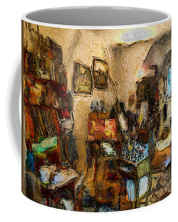 Modern Art Studio Coffee Mug