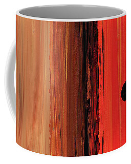 Coffee Mug featuring the painting Modern Art - The Power Of One Panel 1 - Sharon Cummings by Sharon Cummings