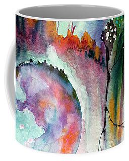 Modern Art Travel Log 04 Dec 8 2017 Coffee Mug