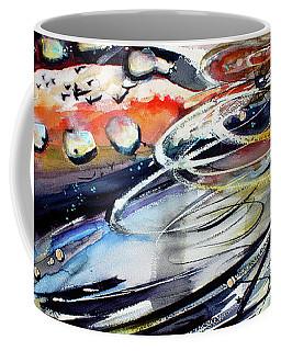 Modern Art Travel Log 05 Dec 9 2017 Coffee Mug