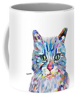 Modern Cat Coffee Mug