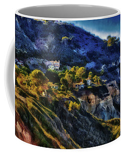Modern Cliff Dwellers Coffee Mug by Joseph Hollingsworth
