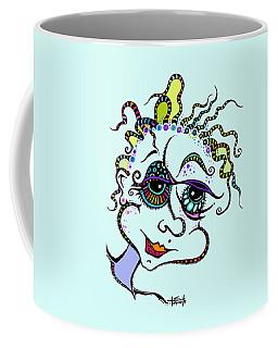 Modern Day Medusa Coffee Mug by Tanielle Childers
