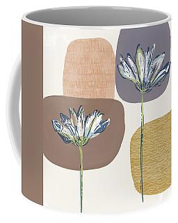 Modern Fall Floral 1- Art By Linda Woods Coffee Mug