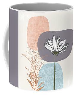 Modern Fall Floral 2- Art By Linda Woods Coffee Mug