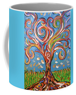 Modern Impasto Expressionist Painting  Coffee Mug