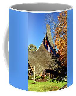 Modern New England Church In Fall Coffee Mug